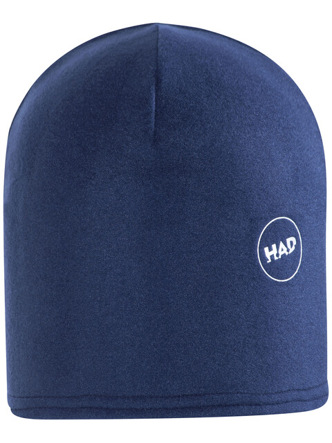 HAD Printed Fleece Beanie navy reflective